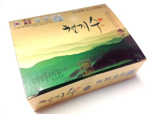 น้ำมันสนเข็มแดง ชอนจีซู .